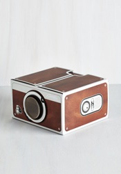 Keep Watch Smartphone Projector Mod Retro Vintage Electronics Modcloth.Com