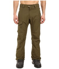 686 Authentic Rover Pants Olive Men's Casual Pants