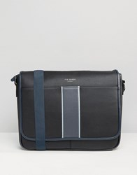 Ted Baker Messenger Bag Black