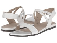 Ecco Touch Ankle Sandal Silver Women's Sandals