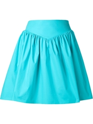 Moschino Wasitband Pleated Skirt