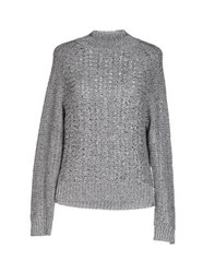 Theyskens' Theory Knitwear Turtlenecks Women Grey