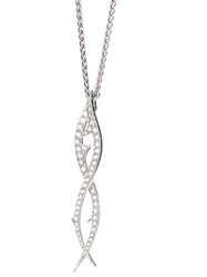 Stephen Webster 'Thorn' Drop Pendant Necklace Metallic