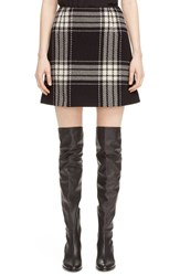 Mcq By Alexander Mcqueen Women's Plaid Miniskirt