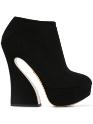 Charlotte Olympia 'Millie' Boots Black