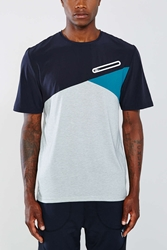 Without Walls Fabric Mix Dri Release Tee Grey