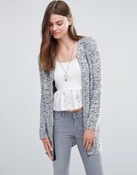 Pepe Jeans Laly Marl Zip Cardigan White 808