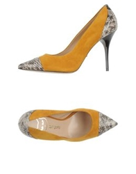 Del Gatto Pumps Ocher