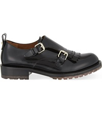 Valentino B Formal Monk Shoes Black