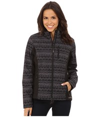 Cinch Long Sleeve Log Bonded Jacket Black Women's Coat