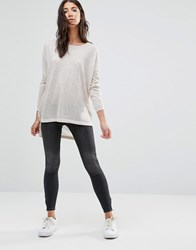 Vero Moda Five Washed Cropped Skinny Jeans Black Washed