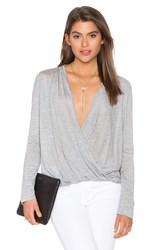 Charli Adaline Top Gray