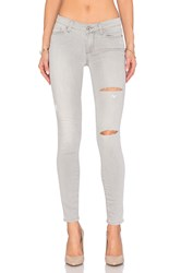 Paige Verdugo Ultra Skinny Grey Mist Destructed