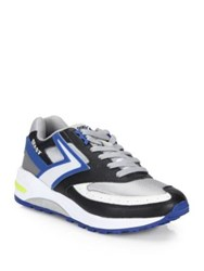 Brooks Beast Lace Up Sneakers Black White