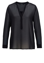 Hallhuber Sheer Tunic Black