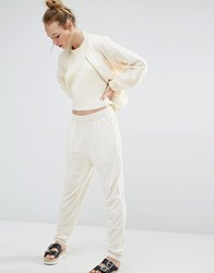Monki Casual Trouser Off White
