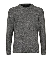 Boss Igus Melange Jumper Male Grey