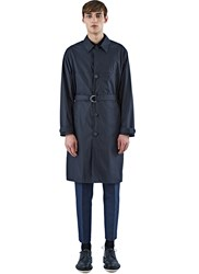Ss16 Acne Studios Milo Poplin Trench Coat Black