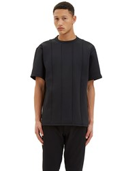 Y 3 Oversized Spacer T Shirt Black