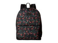 Vans Cameo Backpack X Ray Floral Black True White Backpack Bags