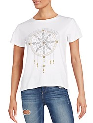 Project Social T Dream Catcher Graphic Tee White