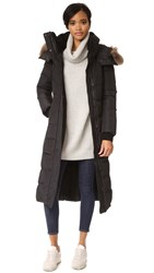 Mackage Jada Long Coat Black