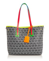 Marlborough Limited Edition Iphis Printed Canvas Tote Bag Neon Women's Liberty London