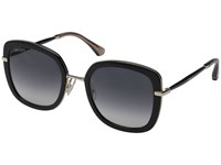 Jimmy Choo Glenn S Black Dark Gray Gradient Fashion Sunglasses