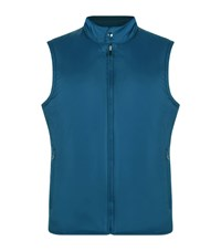 Z Zegna Reversible Quilted Gilet Male Blue