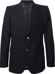 Marc Jacobs Two Button Blazer Blue