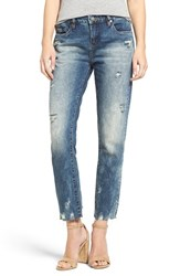 Blank Nyc Women's Blanknyc 'Thrift Score' Distressed Crop Jeans