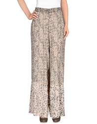 Hoss Intropia Trousers Casual Trousers Women Beige