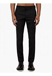 Jil Sander Black Wool Trousers
