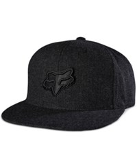 Fox Men's Fret Snapback Hat Black