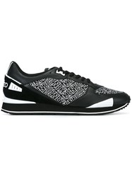 'Flying Kenzo' Sneakers Black