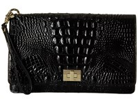 Brahmin Lily Pouch Black Handbags