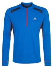 Salomon Ultra Trail Long Sleeved Top Union Blue Midnight Blue