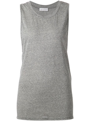 Lacausa Loose Fit Tank Grey