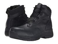 Timberland 6 Valor Duty Composite Safety Toe Waterproof Side Zip Black Men's Work Lace Up Boots
