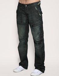 Bench Vulcan Loose Jeans Blue