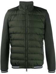Moncler Quilted Puffer Jacket Green