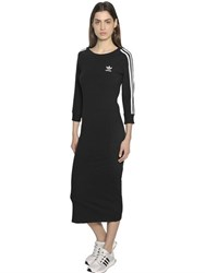 Adidas Three Stripes French Terry Cotton Dress