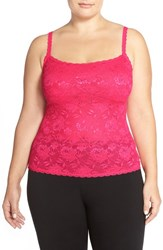 Plus Size Women's Cosabella 'Never Say Never' Lace Front Camisole