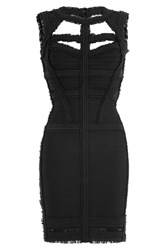 Herve Leger Bandage Dress Black