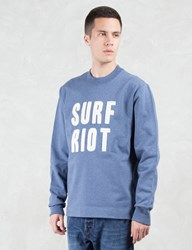 Paul Smith Red Ear Surf Riot Embroidery Sweatshirt