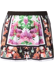 Clover Canyon Floral Printed Shorts Multicolour