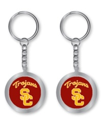 Aminco Usc Trojans Spinning Keychain Team Color