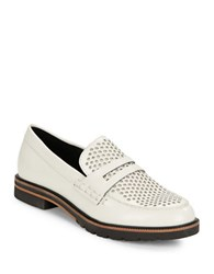 Dolce Vita Aidan Leather Loafers Off White