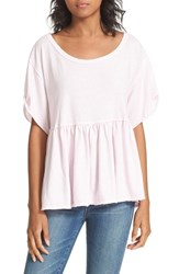 Free People Women's Odyssey Tee Lavender