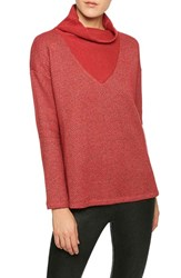 Sanctuary Women's 'Dunaway' Cowl Neck Pullover Scarlet